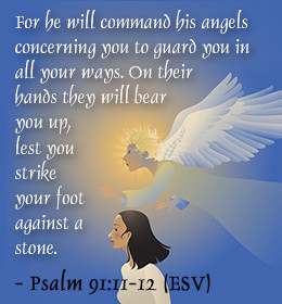 what does the bible say about guardian angels