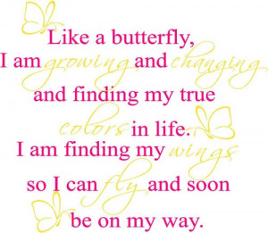 Summer Fun Quotes For Kids Butterfly quotes for kids