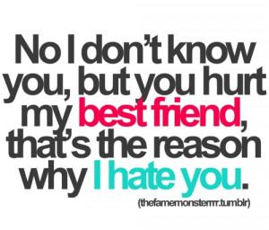 best friend, hate, hurt, quote, reason, true
