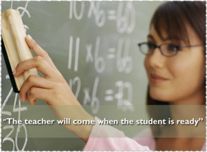 Daily Motivational Quotes - The teacher will come when the student is ...
