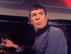 Mr. Spock The Corbomite Manuever