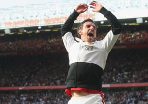 Gary Neville's autiobiography in 10 quotes