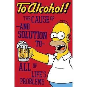 popscreen.comAlcohol Homer Beer Quote