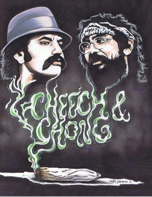 Cheech & Chong #Marijuana