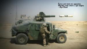 war army military quotes ayn rand humvee morality 1920x1080 wallpaper ...