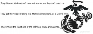Female Marine Quotes And Sayings Female marines cover