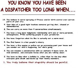 funny dispatcher
