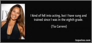 More Tia Carrere Quotes