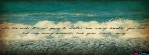 Amazing Beach Beautiful Quotes Facebook Cover
