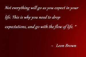 Excellent Quote By Leon Brown With Image !!