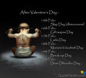 feb ladai day 18th feb manane ki koshish day 19th feb break up day ...