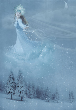 ... present of the whole world and a pair of new skates the snow queen