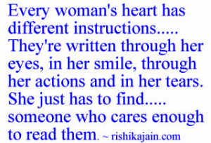 Inspirational Quotes For Women About Strength Every woman's heart has