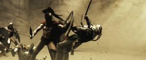 King Leonidas ( Gerard Butler )