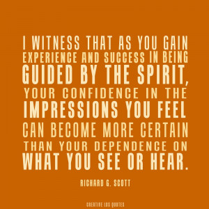 Guided By the Spirit