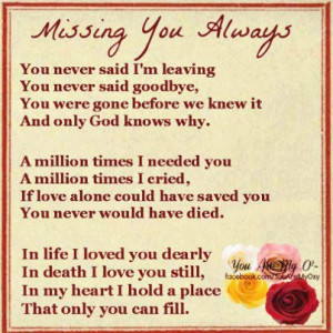 and the only girl i still think of you dad and miss you each time this ...