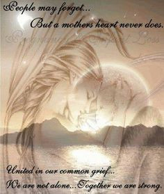 ... about a grieving mother only another grieving mother could understand