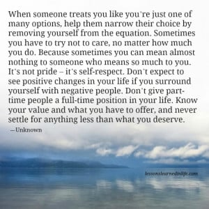 what you deserve quotes