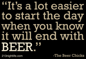 Quote of the Day: The Beer Chicks
