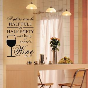 ... GLASS-Home-Decor-Vinyl-Art-Murals-Quotes-Stickers-Kitchen-Wall-Decals