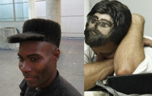 Posted in Funny haircuts , Funny images