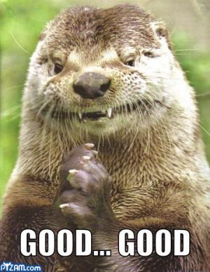 Funny Otter