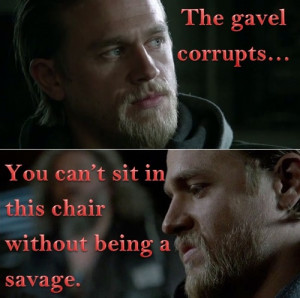 One of the best Sons of Anarchy quotes of the year.