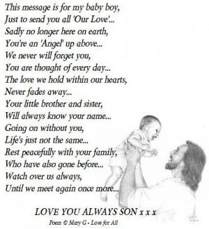... baby in heaven poems do babies grow in heaven do baby in heaven poems