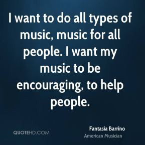 Fantasia Barrino - I want to do all types of music, music for all ...