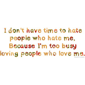 Busy Loving People Who Love