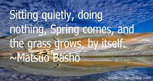 Favorite Matsuo Basho Quotes