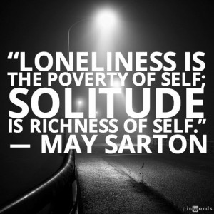 Inspirational Quotes About Being Alone Pic #20