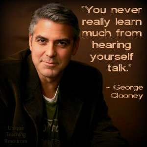 George Clooney Quote Funny