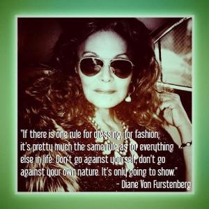 Diane Von Furstenberg quotecard