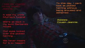 The Big Bang Theory Howard Wolowitz high.