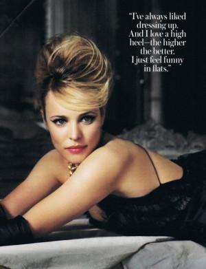 classy, heels, high heels, quote, quotes, rachel mcadams