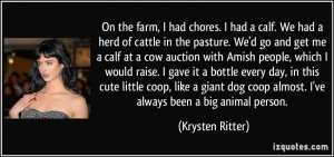 Cattle Quotes and Sayings