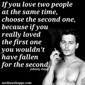 Tojohnni Depp, Johnny Depp, Depp Quotes, Depp Love Second, True Words ...