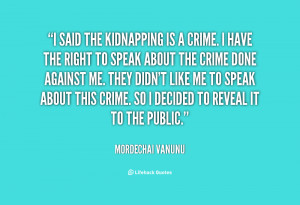 Quotes About Kidnapping