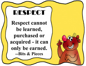 Respect Quotes For Kids Respect