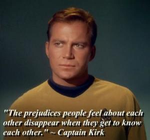 Star Trek Captain Kirk quote