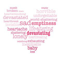Words at the heart of Babyloss.