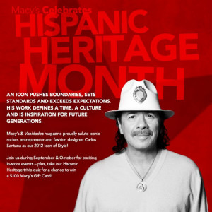 Macy's & Vanidades Magazine Celebrates Hispanic Heritage Month