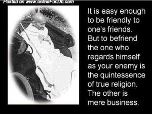 Mahatma Gandhi's WISE Sayings