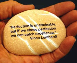 Inspirational VInce Lombardi Quote