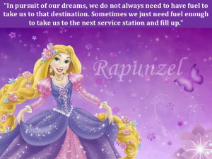 Disney Princess Quotes About Dreams In pursuit of our dreams