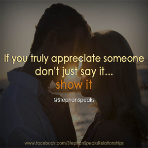 love quote on appreciation