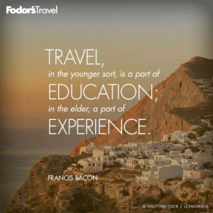 Travel Quote of the Week: On Education