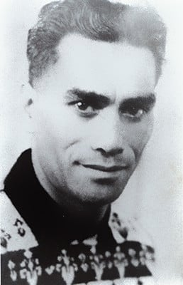 Kiri Te Kanawas Biological Father Jack Wawatai At Age 20 In 1937