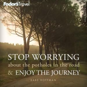 Travel Quote of the Week: On Stress-Free Journeys